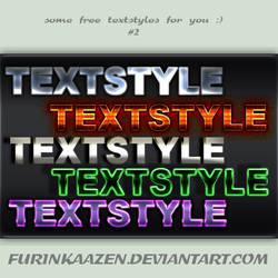 Textstyles #2 by Furinkaazen