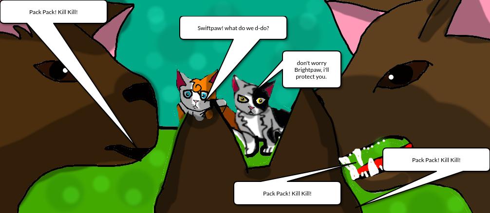 RANDOM WARRIOR CATS SCENE by Warriorcatsgeeks