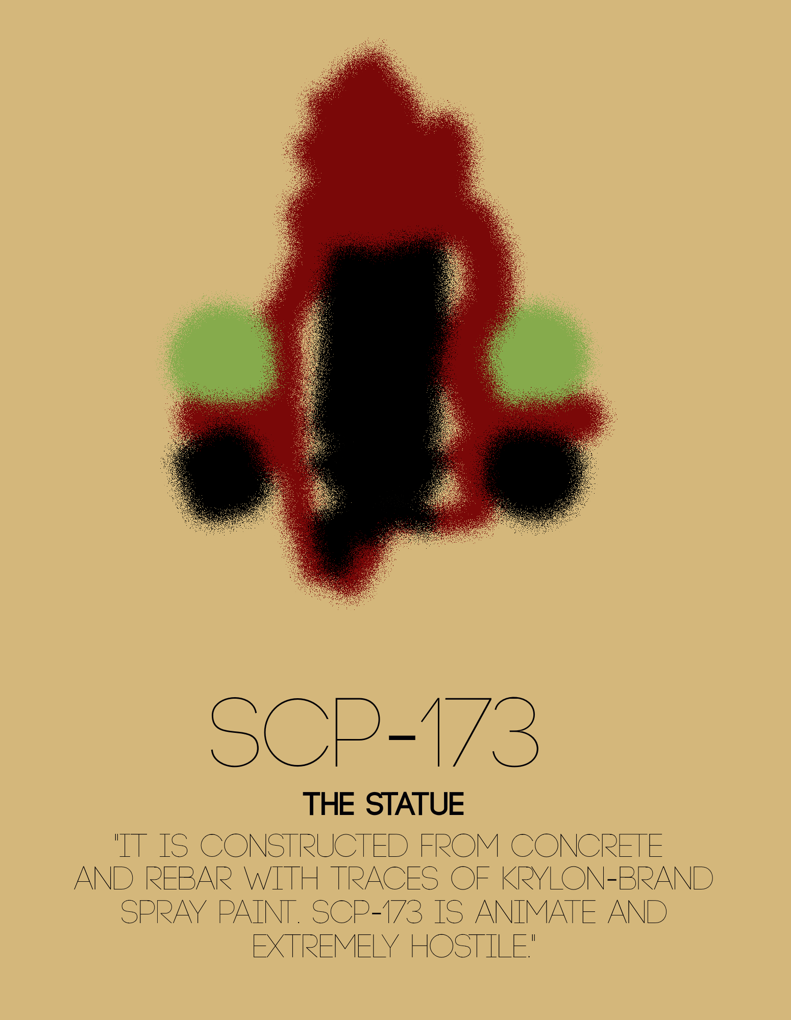 SCP-173 - The Heritage Collection Poster Set