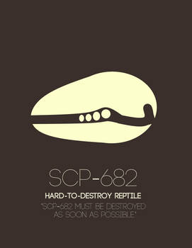 SCP-682 - The Heritage Collection Poster Set
