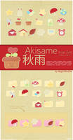 Akisame Icon Set