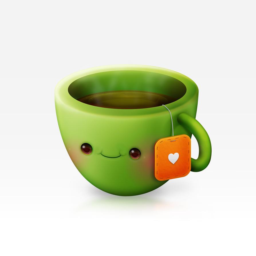 Tea Love Icon by Cappippuni