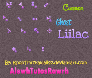 Ghost Liilac Cursor Set by KpopTmrzkawaii97