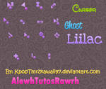 Ghost Liilac Cursor Set