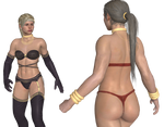 Cassie Cage (Kano Ending)