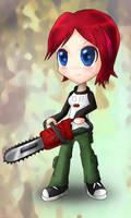 Becky Big Head Doll (Animated)