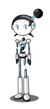 Female Android (Animated)