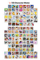 125 Cartoon Character Meme by SweetAeroBaby87