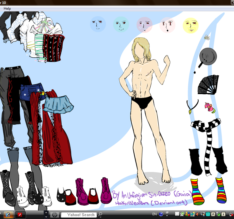 Naruto dress up games deviantart