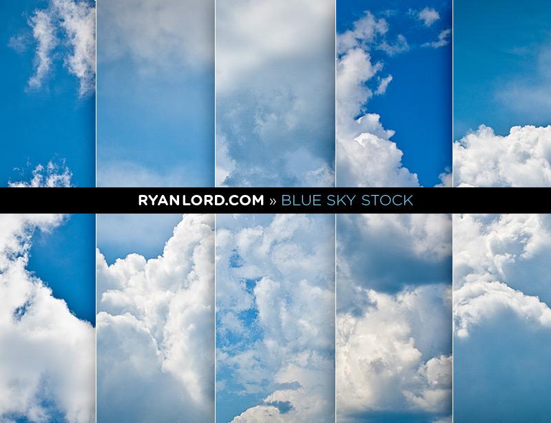 Cloud Stock Photography   Blue Sky Blues