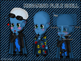 Megamind FLELE shell by ksiazeAikka