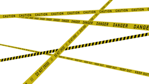 MMD Caution Tapes DL by Nodiel-71