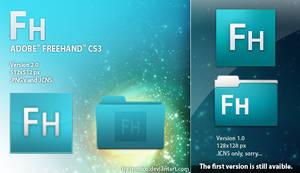 Adobe Freehand CS3 icon by LeoNico