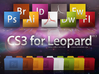 CS3 for Leopard v1.2 by LeoNico
