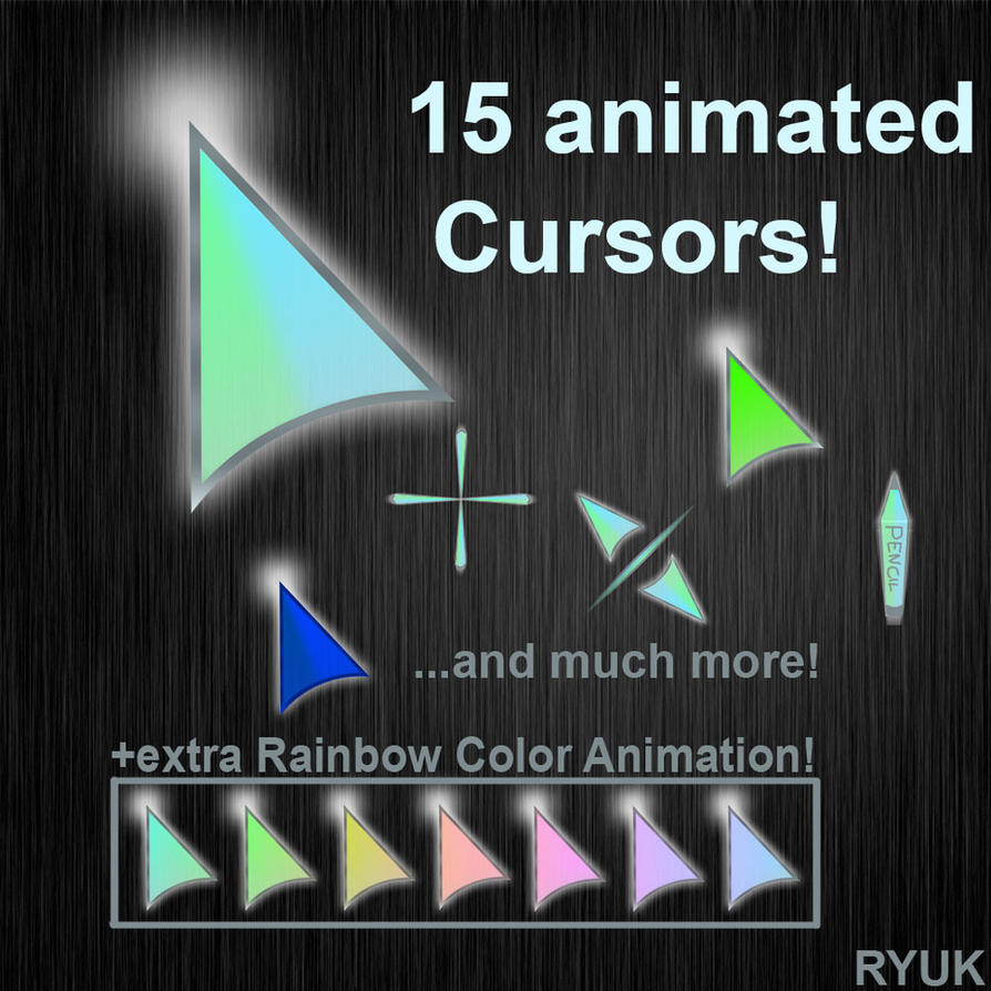 """shine"" animated cursor pack by rino0815"