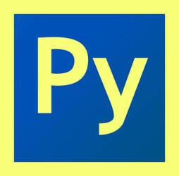Python Logo (Adobe CS6 Look)