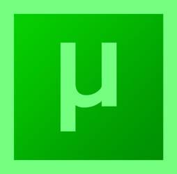 uTorrent Logo (Adobe SC6 Look)