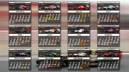 F1 2012 calendar