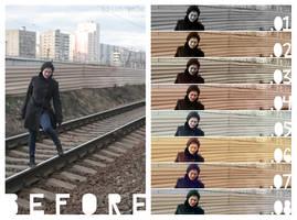 Photoshop Action Set o5 by lustdrunk