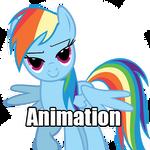 [Animation] Rainbow Dash - Wanna?