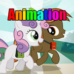 [Animation] Time for school - Button and Sweetie