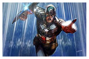 Captain america by Peter-v-Nguyen