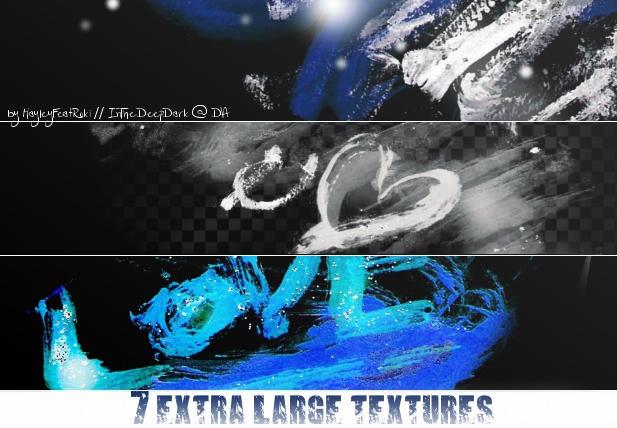 7 extra large textures - dark version by InTheDeepDark
