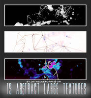 19 Large Abstract Textures