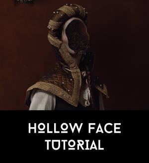 Hallow Face Tutorial