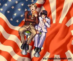 APH Alfred and kiku by yukinoshin
