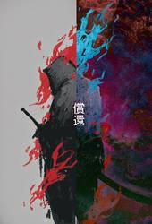 samurai ghost (step by step) by slyvanie