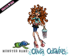 Monster High Contest: Olivia Octavius