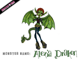 Monster High Contest: Alexia Drakon