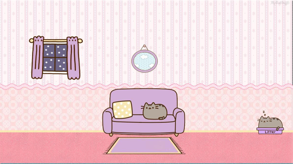 Pusheen Cat Wallpaper By GirlStuff15 By Girlstuff15 ...
