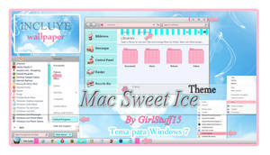 Theme Mac Sweet Ice Windows 7 n.n