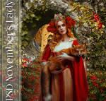 November's Lady PSD by GothLyllyOn
