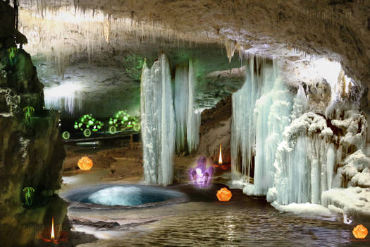 Premium Background Grotto