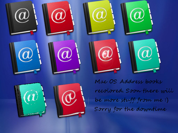 address books mac os png by tonev