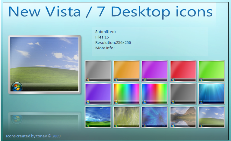 how to add desktop icon in windows 7