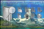 Gray vista icons