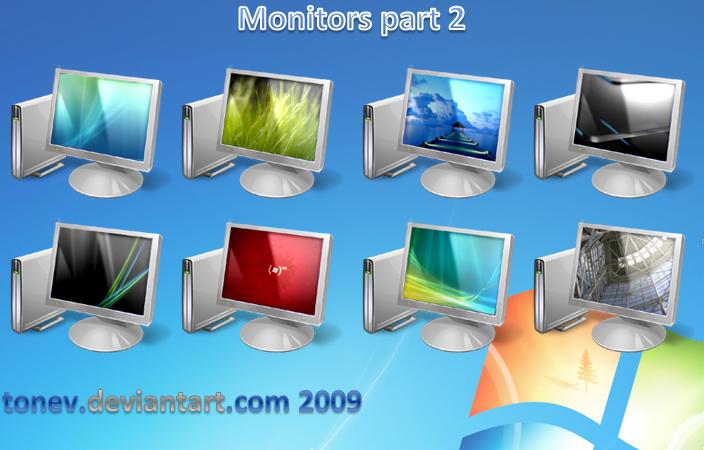 vista 7 monitors part 2 by tonev