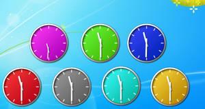 Vista Sidebar clock mod