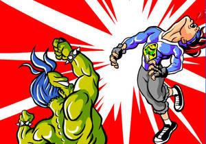 Garoto Escroto Fight