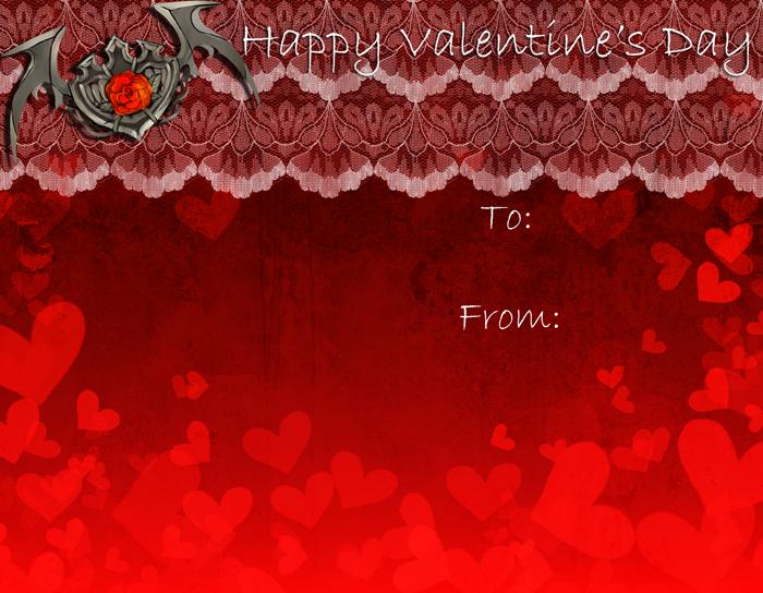 Valentine's Day Card by Rinslettuce