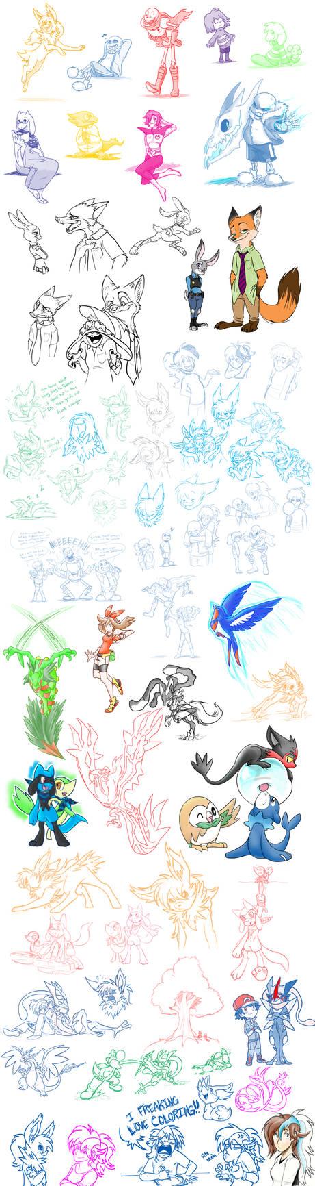 Yay Doodles! :D