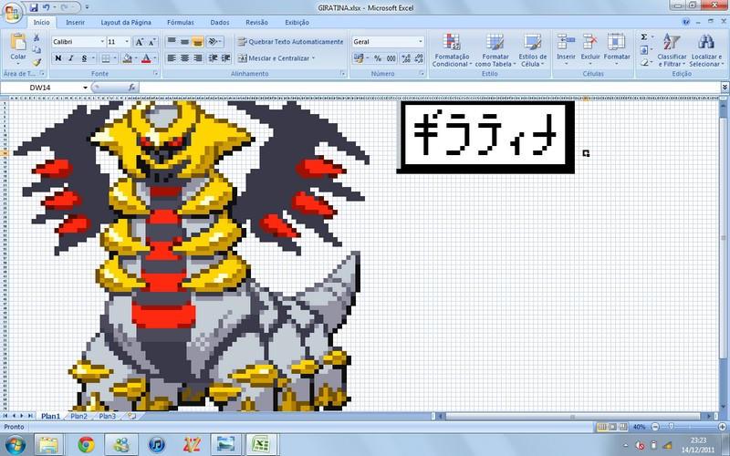Giratina Excel by thetokomitsu