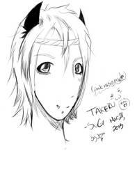 Takeru-SuG ~Pink masquerade by BrokenBloodyHearts