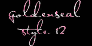 Goldenseal Styles Twelve