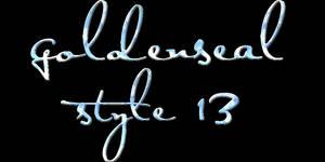 Goldenseal Style Thirteen by goldensealgraphic