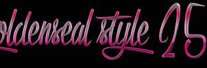 Goldenseal Style 25 by goldensealgraphic